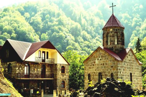 19.cxemvanis wm. giorgis dedaTa monasteri